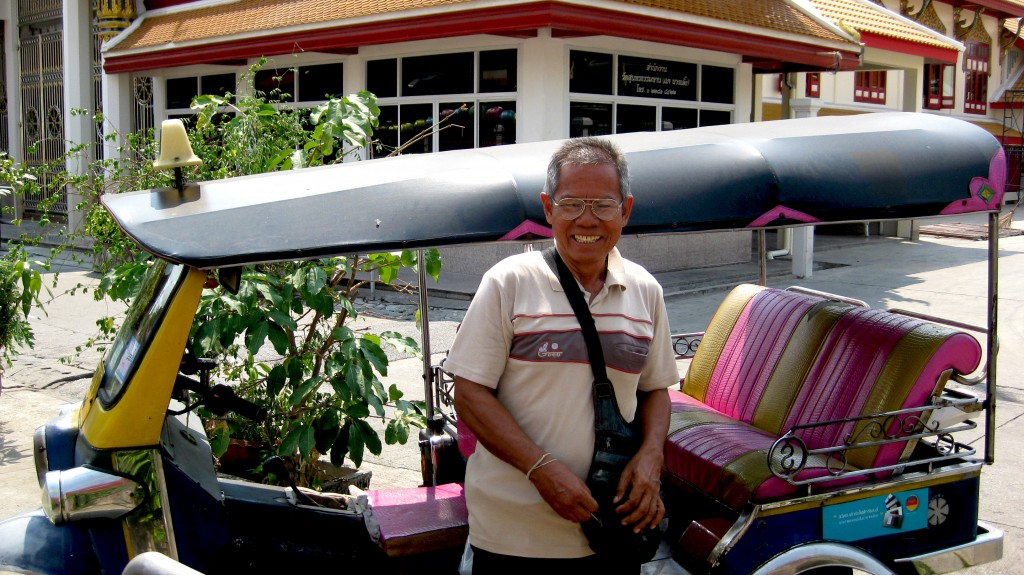 Tuctuc i Thailand