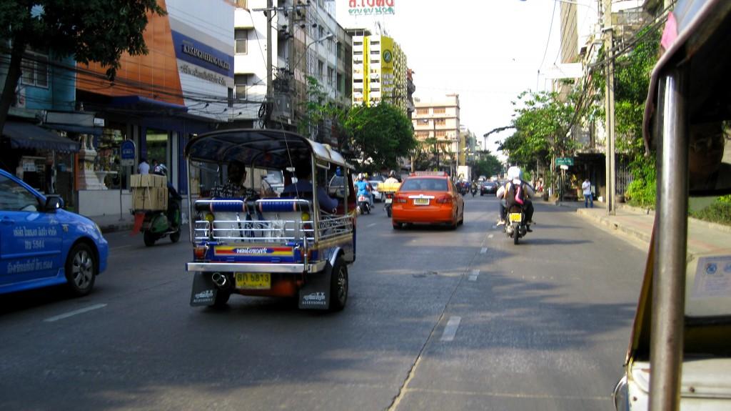 Backpackernes gade