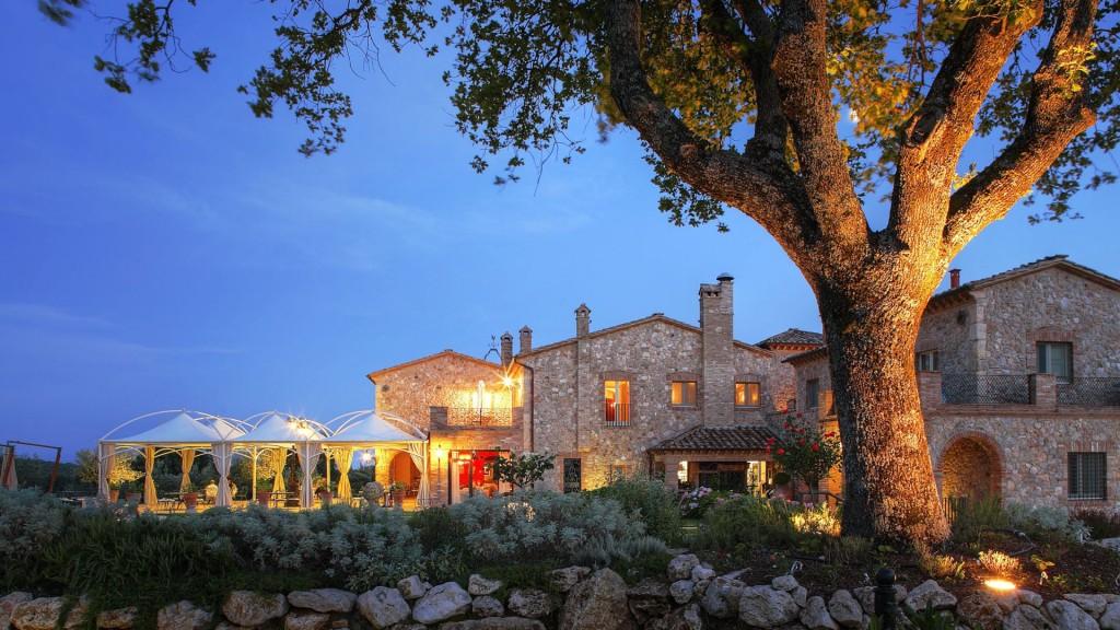 Aften-på-Hotel-Tenuta-del-Gallo-Umbrien-Italien-Hideaways