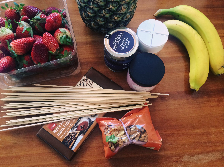Ingredienser til sticks