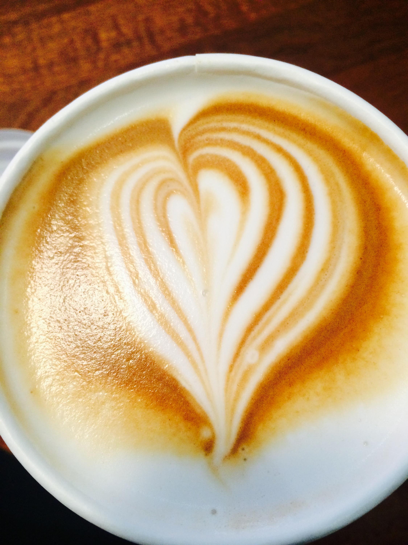 Baresso heart-latte