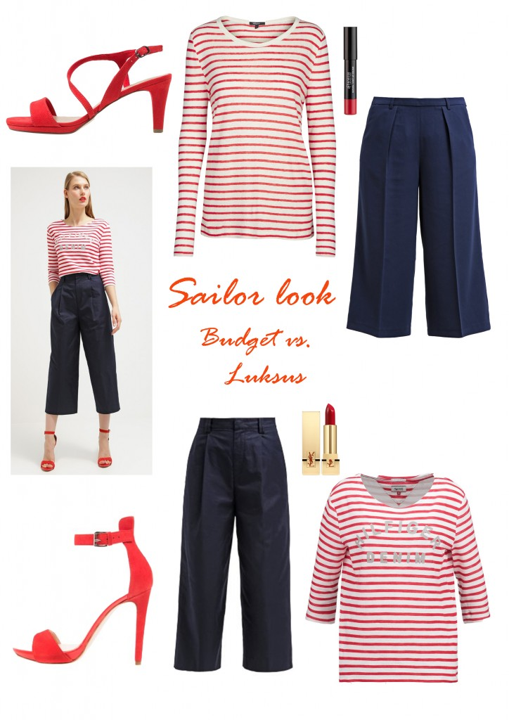 get the look - Sailor style