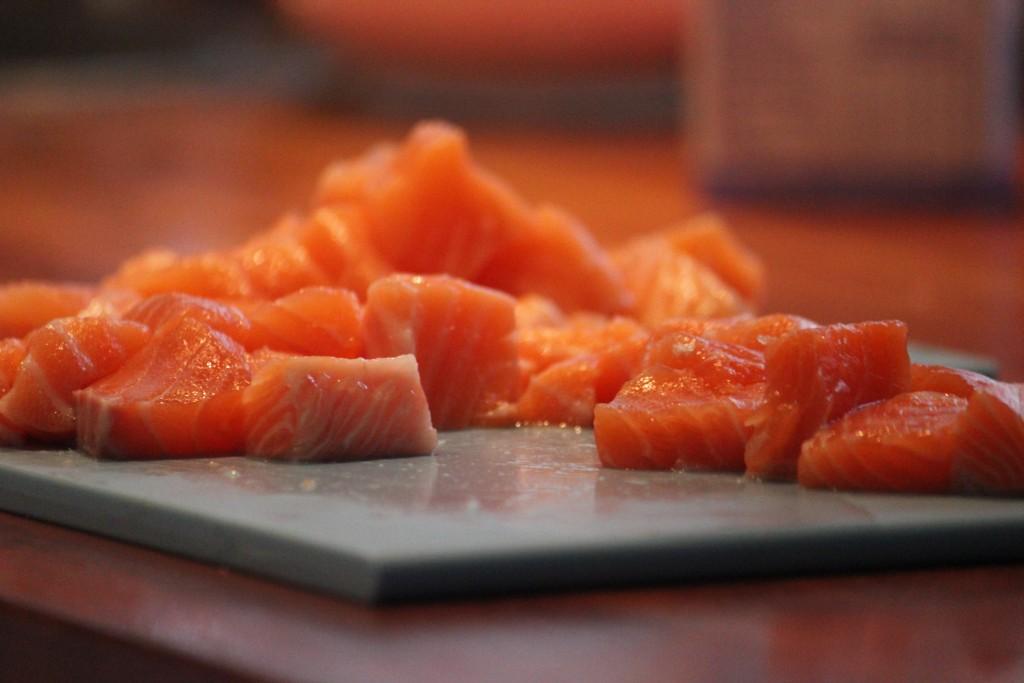 Salmon a la delicious